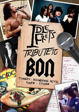 IDLE FRET - Bon Scott Tribute