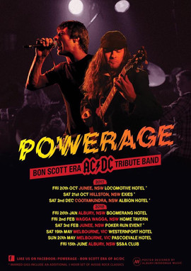 POWERAGE Tour Dates