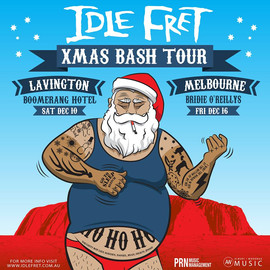 IDLE FRET Xmas Bash