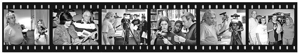Manhattan Film Institute film strip