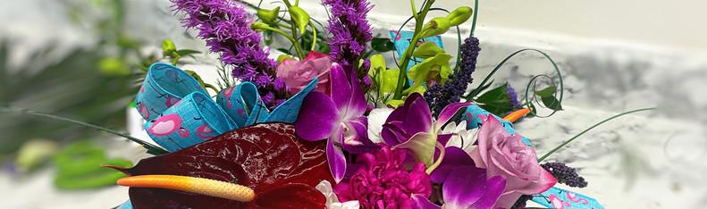 Tropical Arrangement Purple DANS GALLERY.jpg