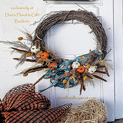 "24"" Seasonal Fall Wreath Handmade (49 & up)"