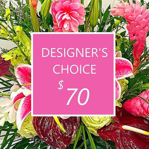 $70 Designer's Choice Fresh Florals - Exquisite !