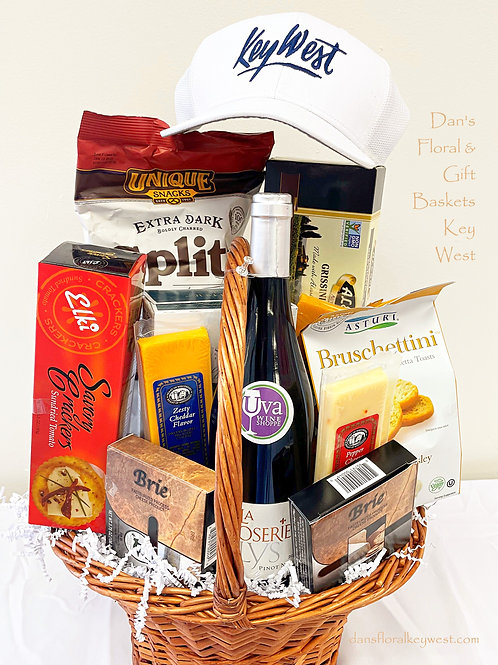 Dan's Wine & Cheese Basket