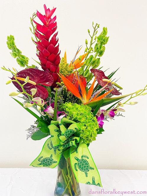 A Tropical Paradise arrangement