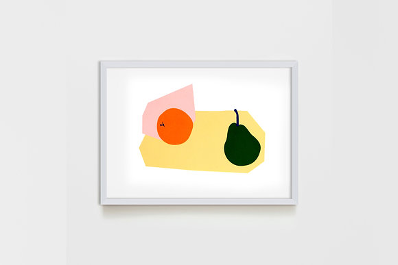Apricot & Pear #2 25X35 cm