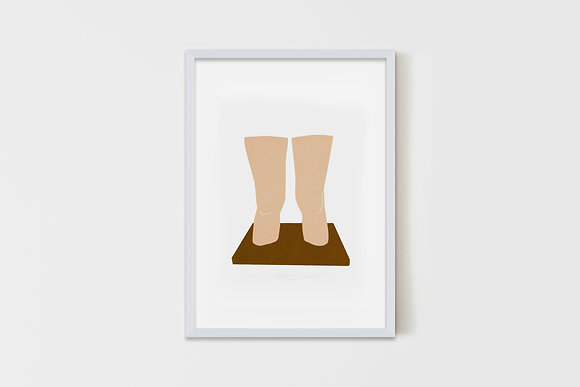 Claes's Knees 15X20 cm