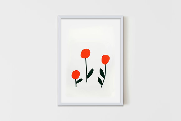 Cherry Flowers 50X70 cm