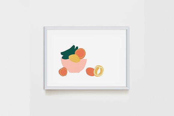 Fruit Bowl 50X65 cm