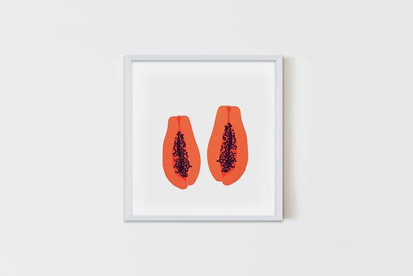 Papayas 51X51 cm