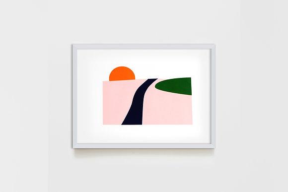 Simple Landscape #1 25X35 cm