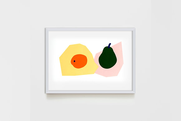 Apricot & Pear #1 25X35 cm