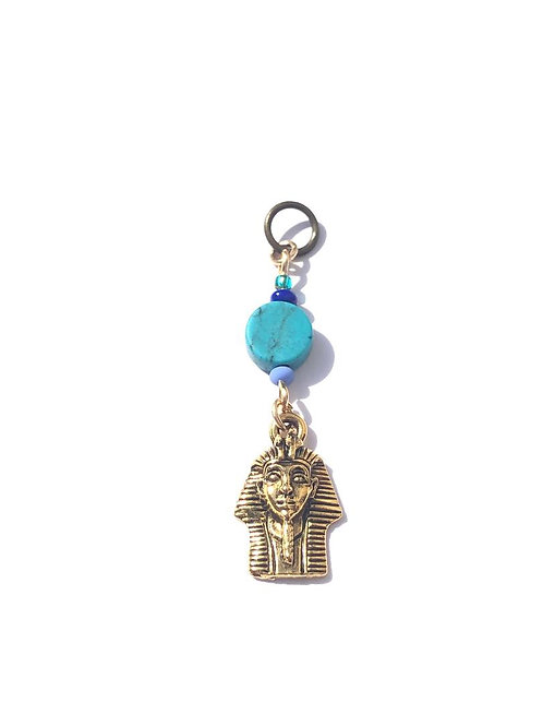 egypt my love turquoise & pharaoh loc charm