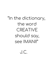 In the dictionary the word  CREATIVE  sh