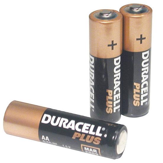 3AA batteries