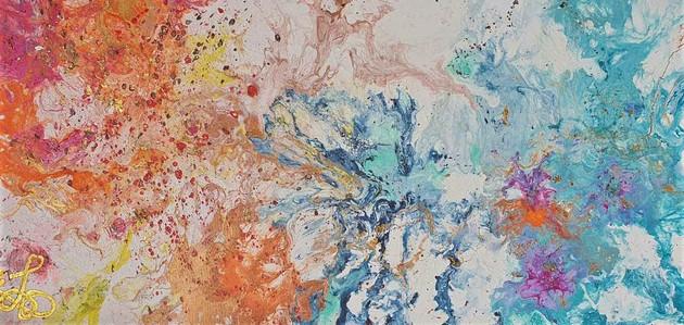 acrylic on canvas - 92 x 46cm