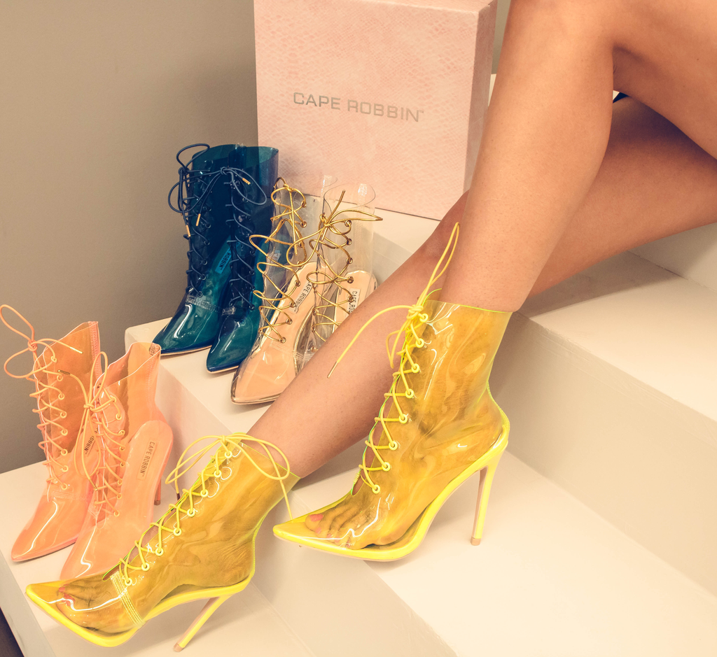 99f10e44b001 Flaunt the Futuristic Vibe with Clear Boots
