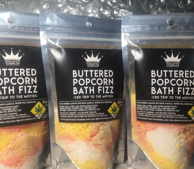 Buttered Popcorn Bath Fizz