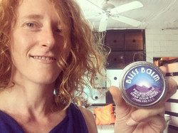 Me with the Bliss Balm!