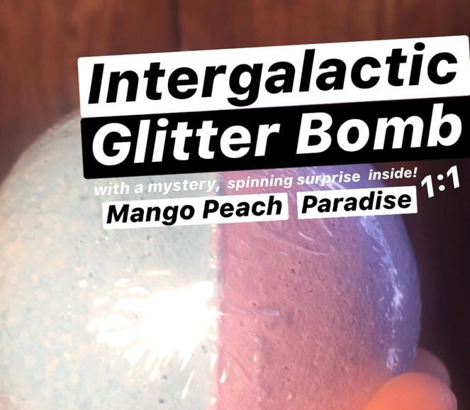 Intergalactic Glitter Bomb