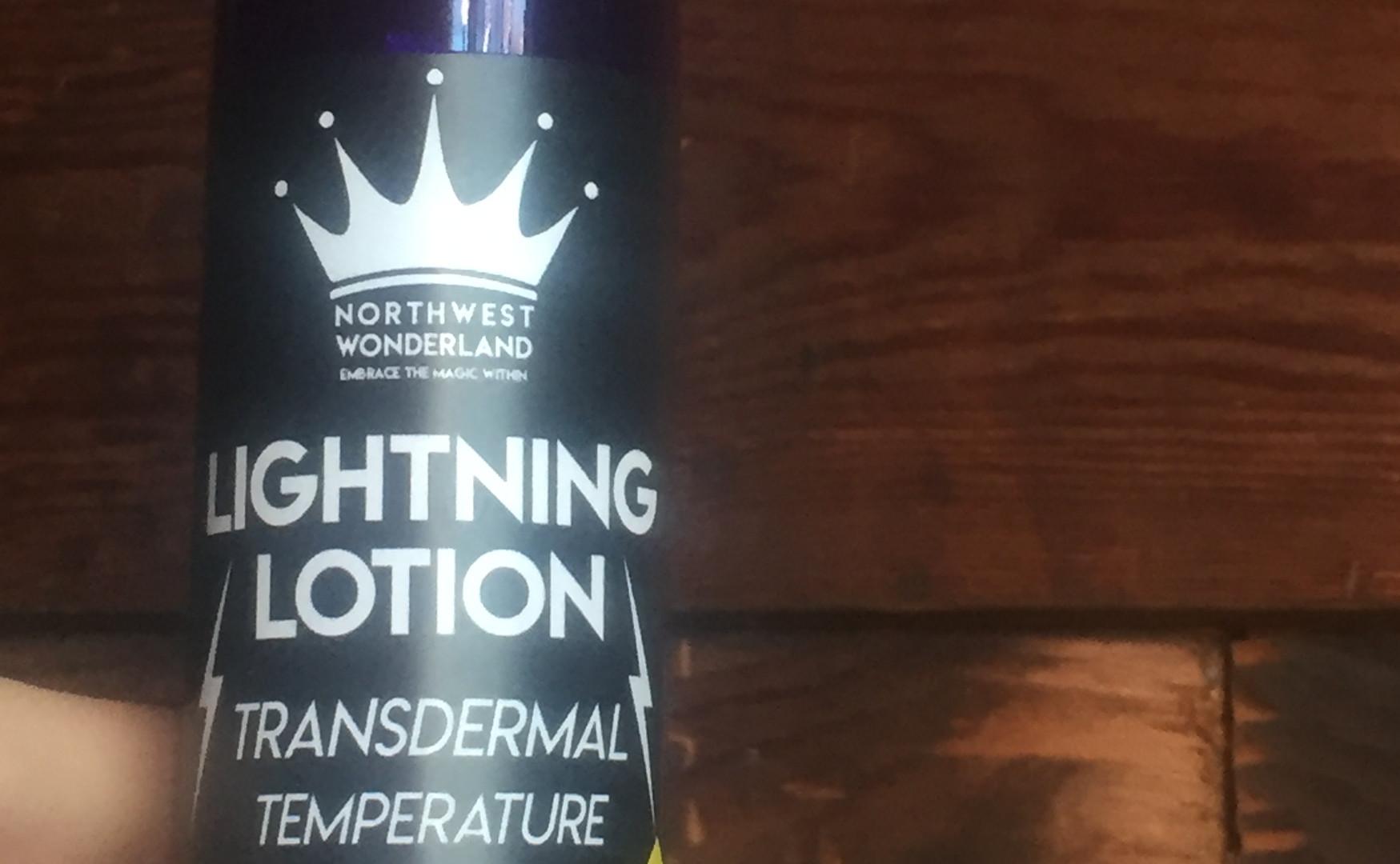 Lightning Lotion