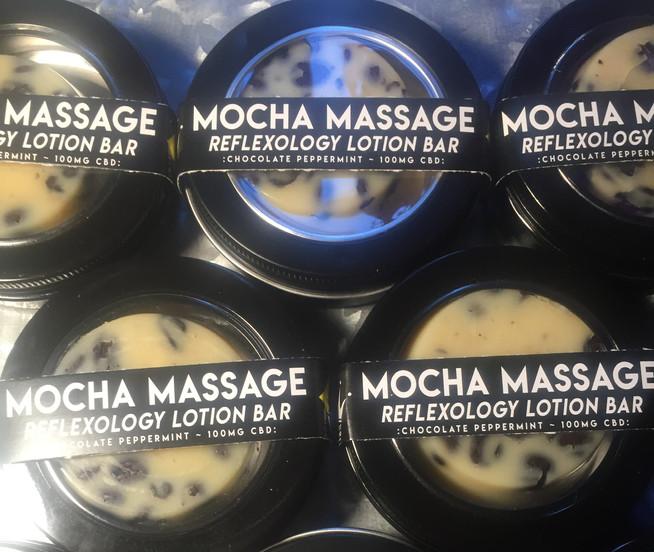 Mocha Massage Reflexology Lotion Bar