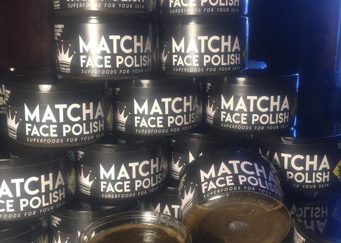 Matcha Face Polish