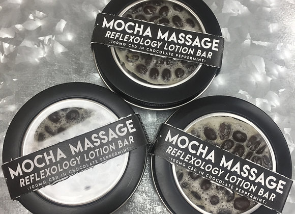 Mocha Massage Reflexology Lotion Bar