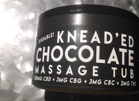 Knead'ed Chocolate Massage Tub