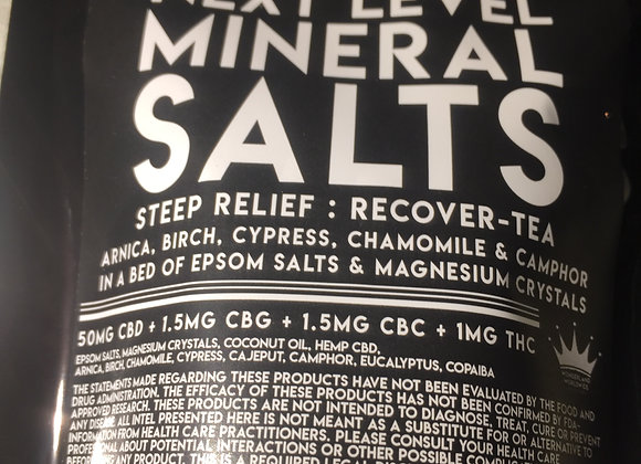 Next Level Mineral Salts : Steep Relief
