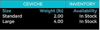 Baja Kanpachi Ceviche Processing Table.p
