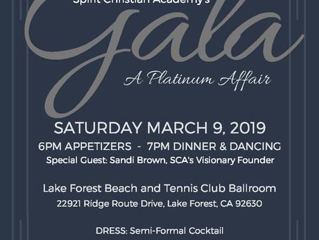 Spirit Christian Academy's Gala