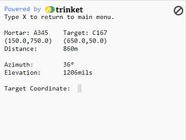 Python Very Basic Mortar Calc