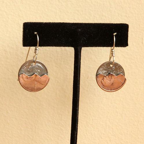 Pocket Change Dangle Earrings