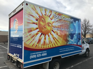 Full Box Truck Wrap