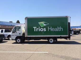 Full Box Truck Wrap