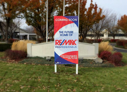 Remax Site Sign
