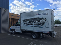 Box Truck Full Wrap & Spot Graphics