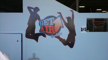 Full Color Vinyl Wall Graphic