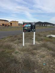 Housing Development Site Sign