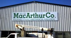 MacArthur Co Building Sign edit