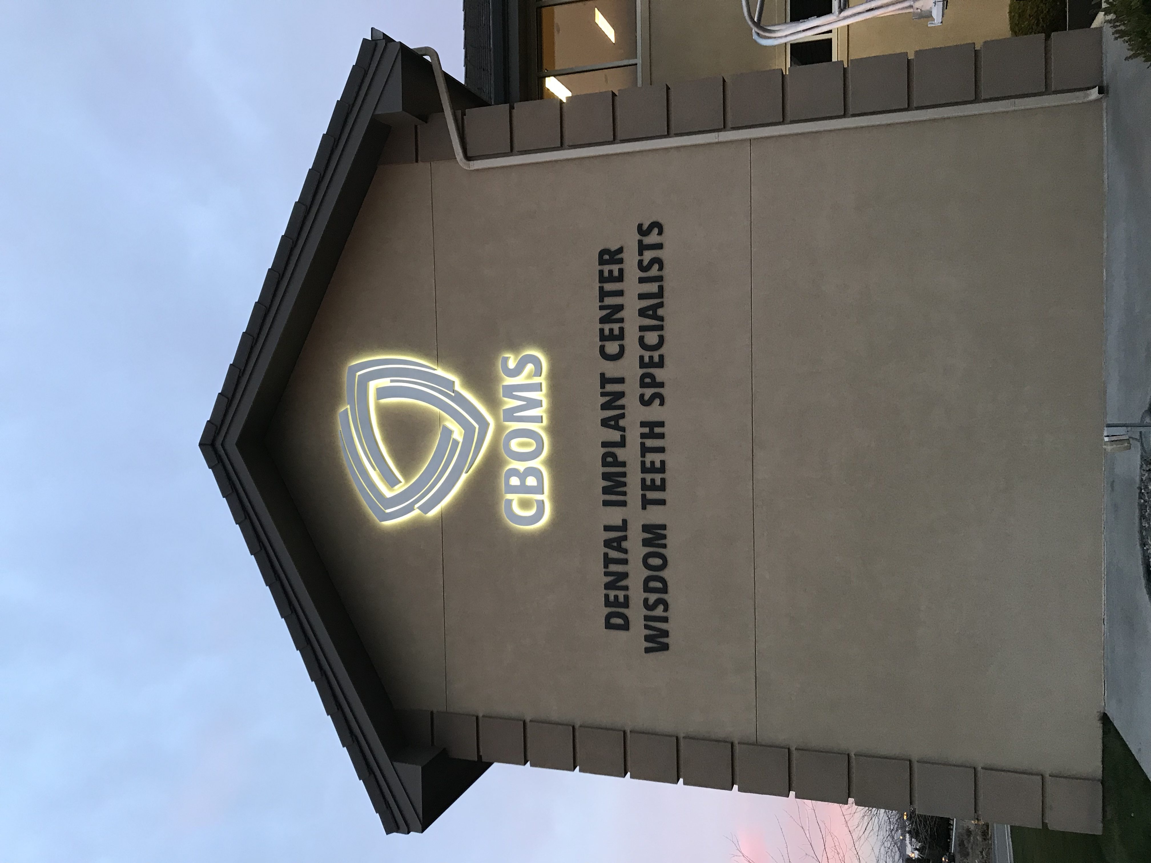 CBOMS Exterior Signage