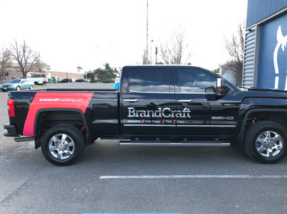 Truck Spot Graphics Chrome