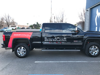 Truck Spot Graphics Chrome
