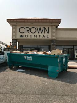 Crown Dental - building sign2