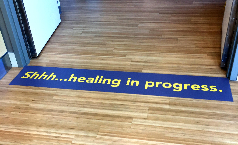 Trios healing in prog - floor 2