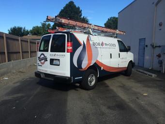 Partial Van Wrap & Spot Graphics