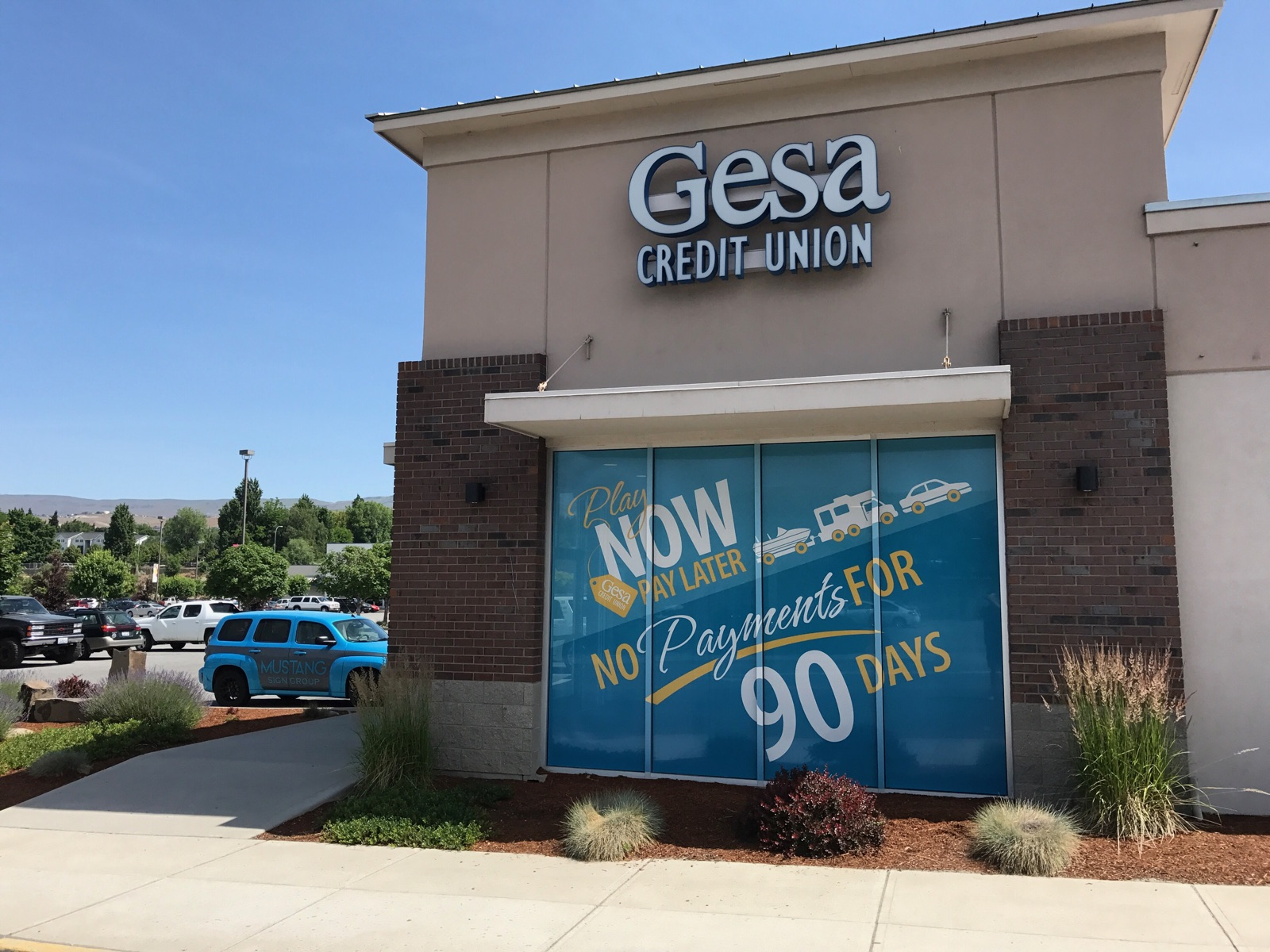Gesa Credit Union Window