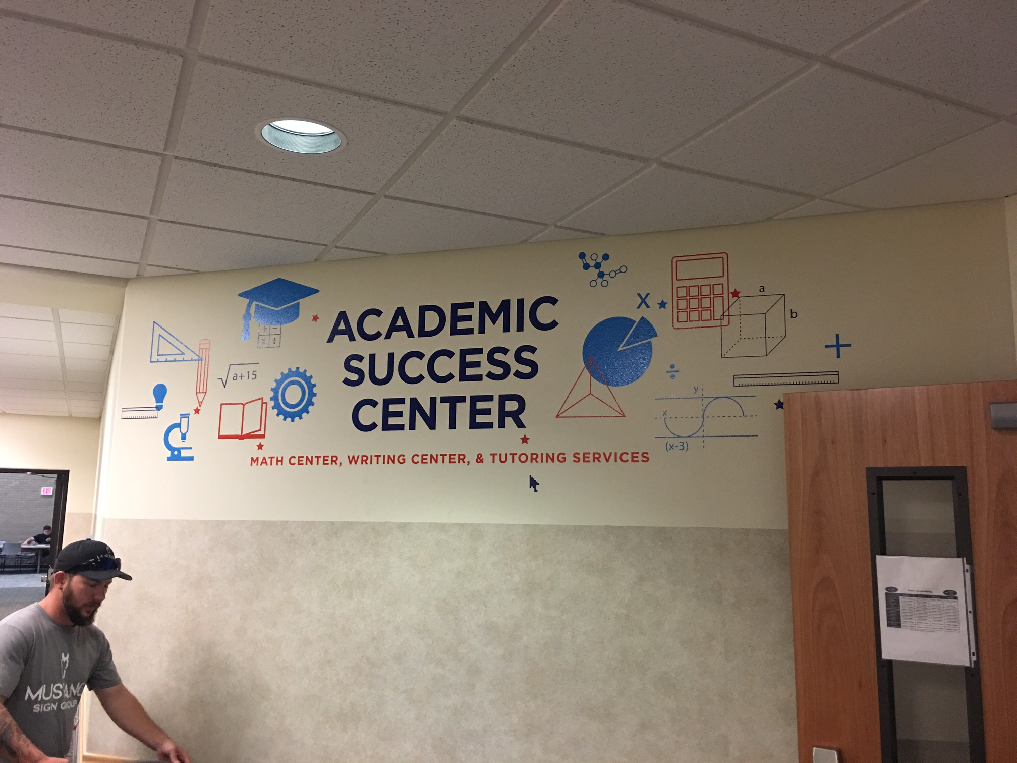 CBC Tutoring Center - Wall