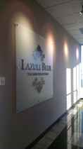 Frosted Acrylic Dimensional Sign